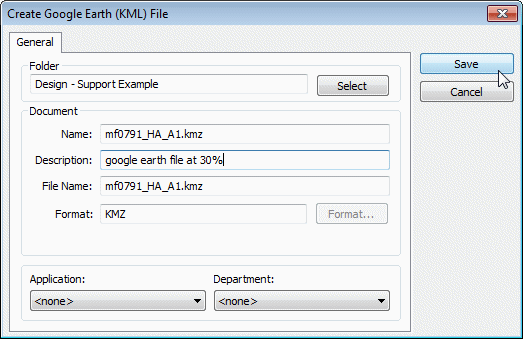 Flh cadd support tips tricks and faq using google earth for Dwg to kmz