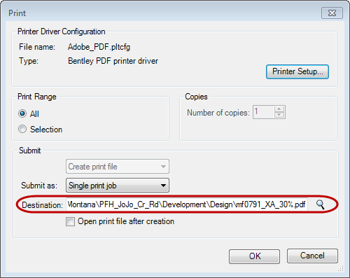 FLH > CADD Support > Tips, Tricks and FAQ > MicroStation